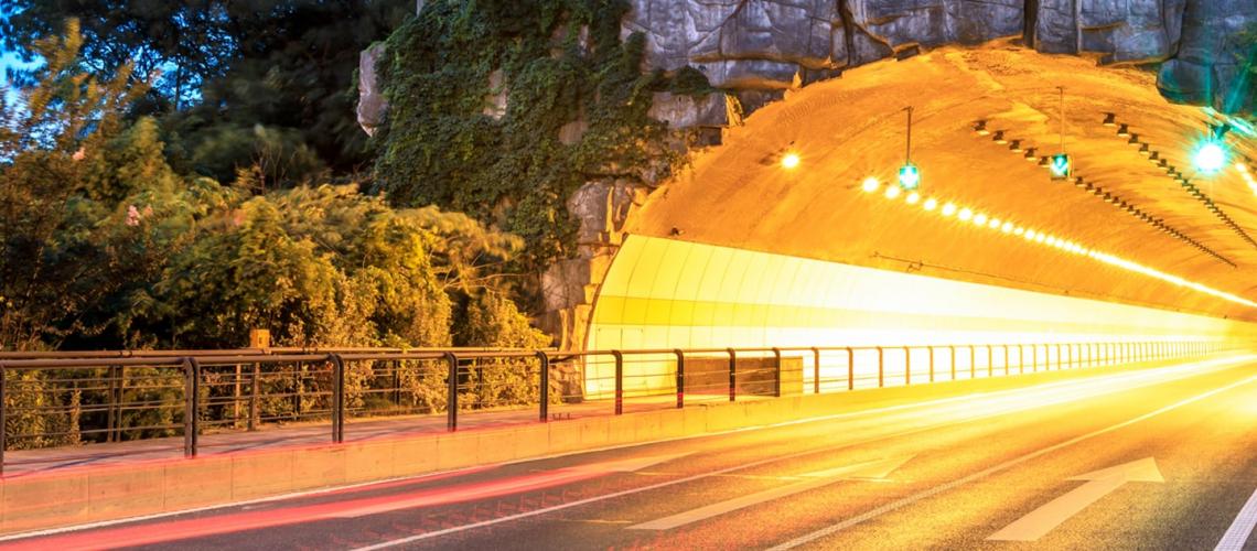 Tunnel light sensor